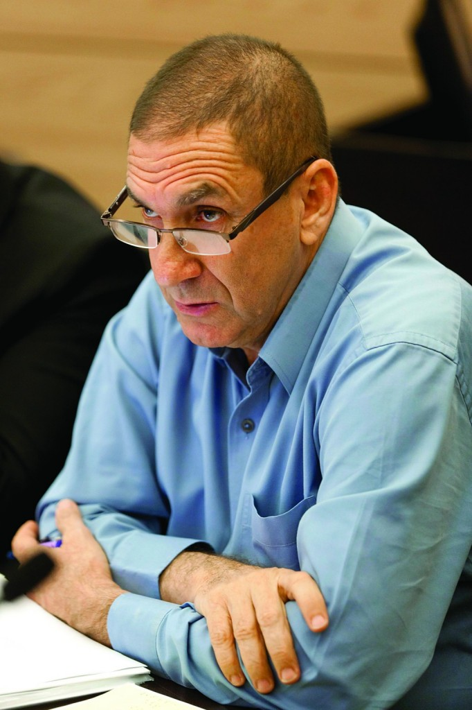 Director of the Israel Electric Corporation Yifath Ron-Tal seen at the Economic Affairs committee meeting in the Knesset on Tuesday. (Flash 90)