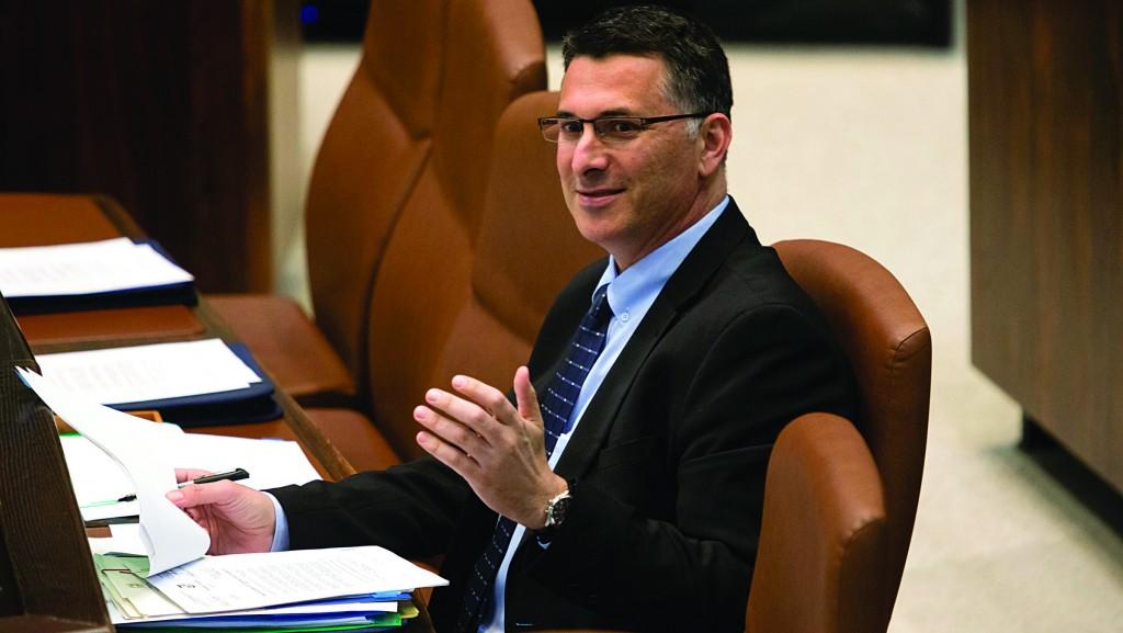 Minister of the Interior Gideon Saar. (Flash90 )