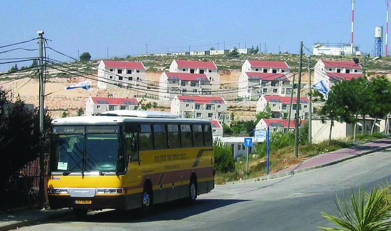 A street in Beit El.