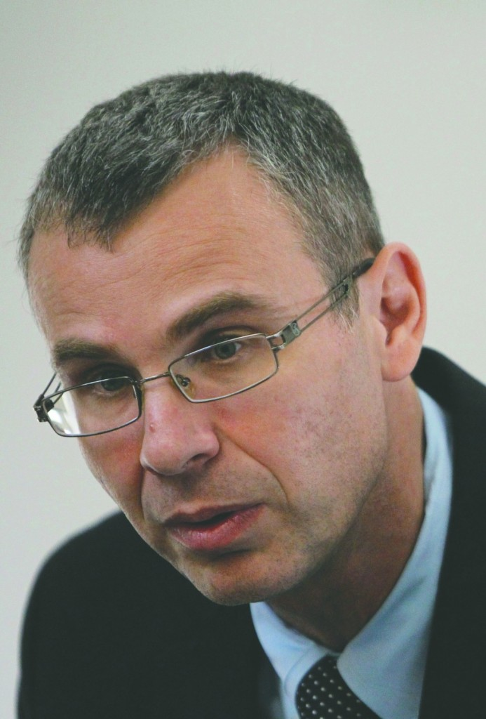 Coalition chairman MK Yariv Levin (Likud). (Miriam Alster/Flash90)