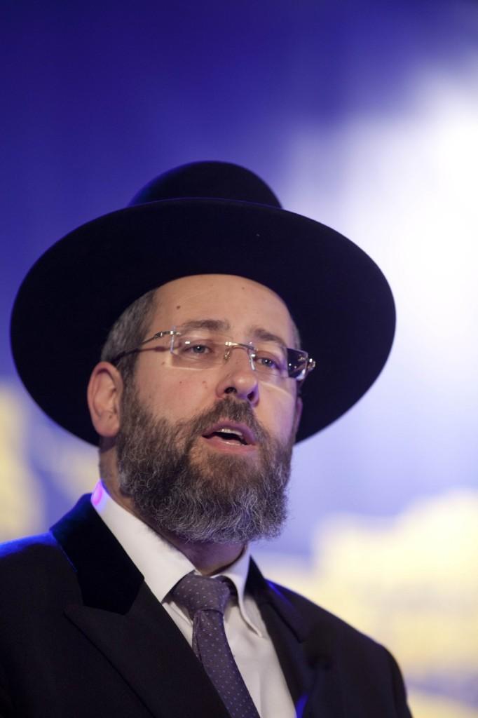 Ashkenazi Chief Rabbi of Israel Rabbi David Lau. (FLASH90)