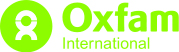 Oxfam International's logo.