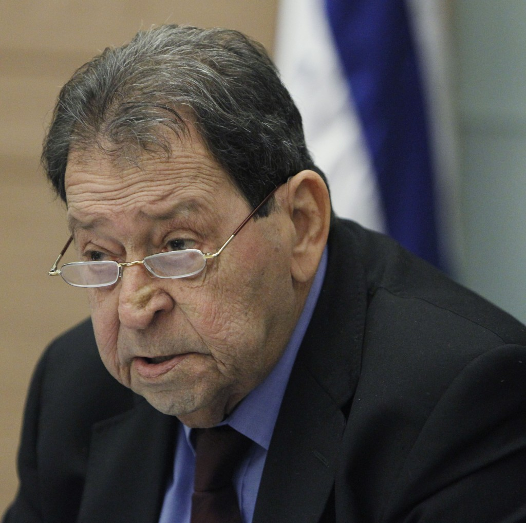 MK Binyamin Ben Eliezer (Miriam Alster/FLASH90)