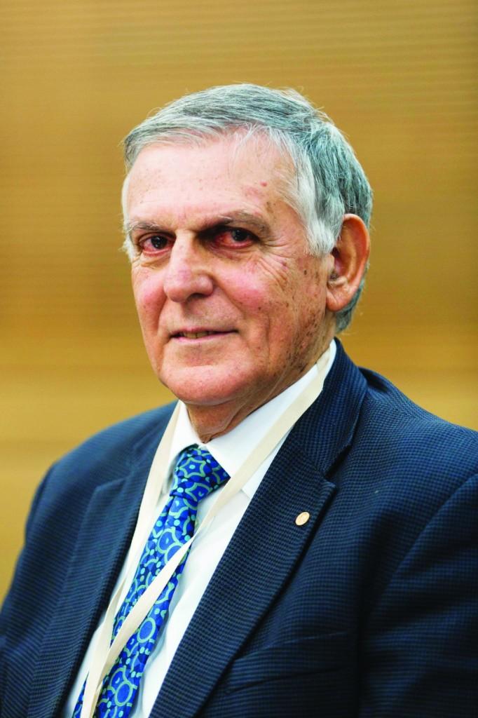 2011 Nobel Prize laureate in chemistry, Professor Dan Shechtman. (FLASH90)