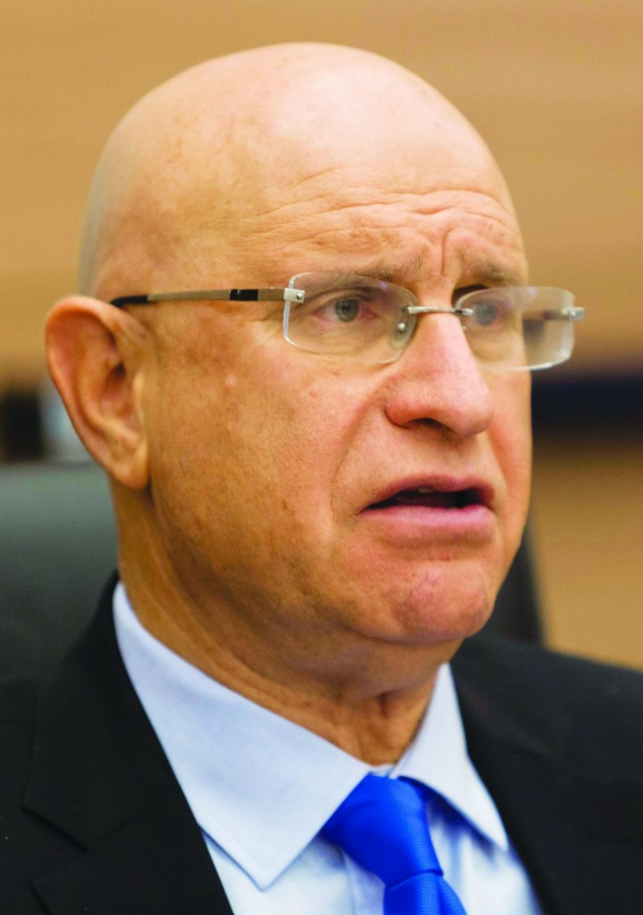 Chairman of the Knesset Finance Committee, MK Avishai Braverman. (Flash 90)