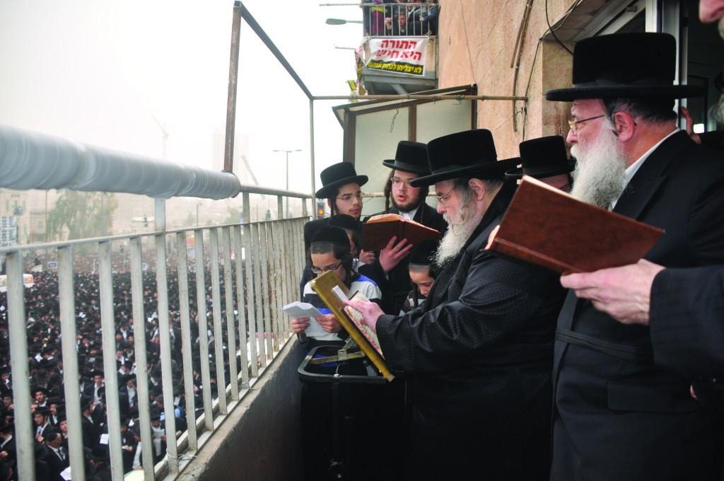 The Belzer Rebbe, shlita.