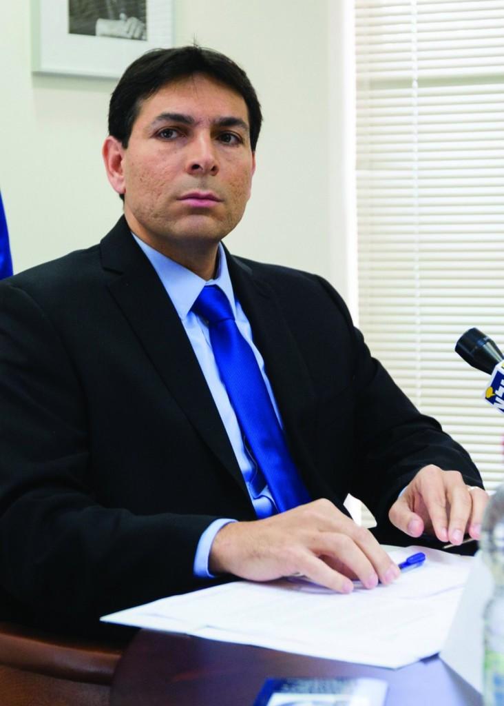 Deputy Defense Minister Danny Danon. (Flash90)