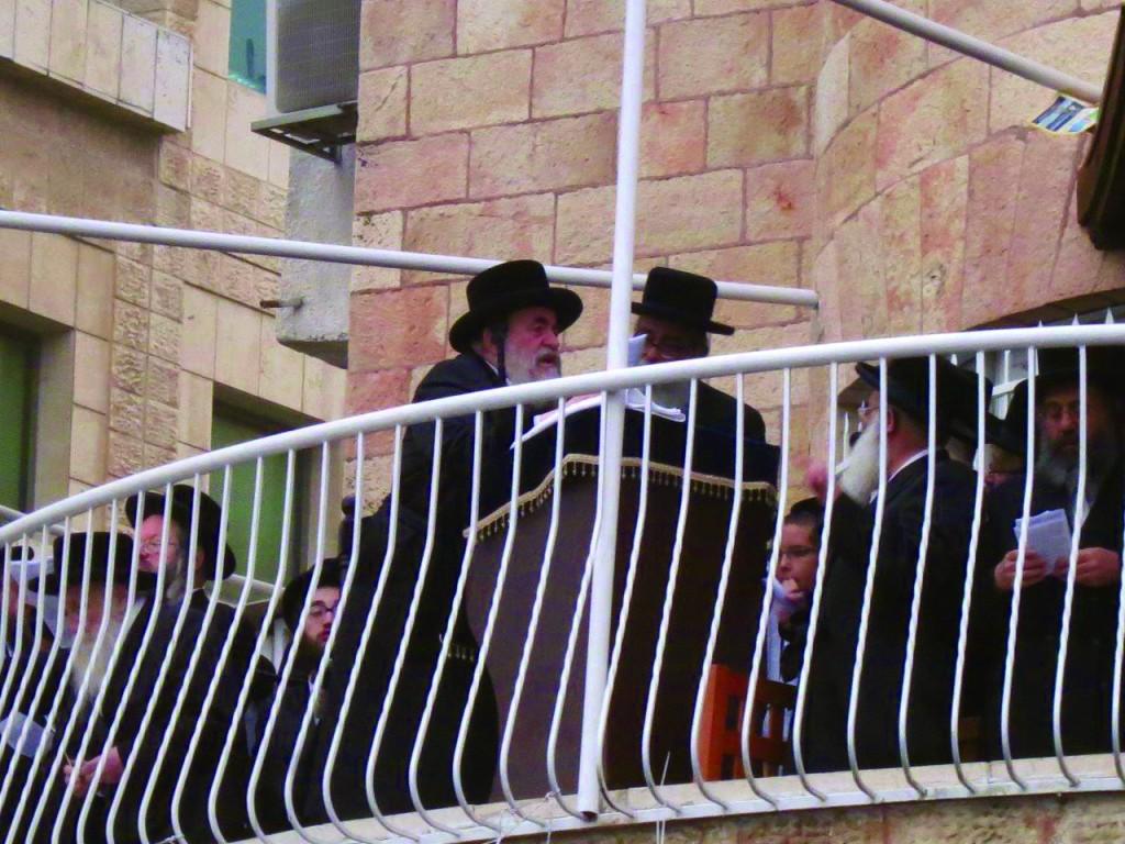 The Vizhnitzer Rebbe of Eretz Yisrael, shlita.