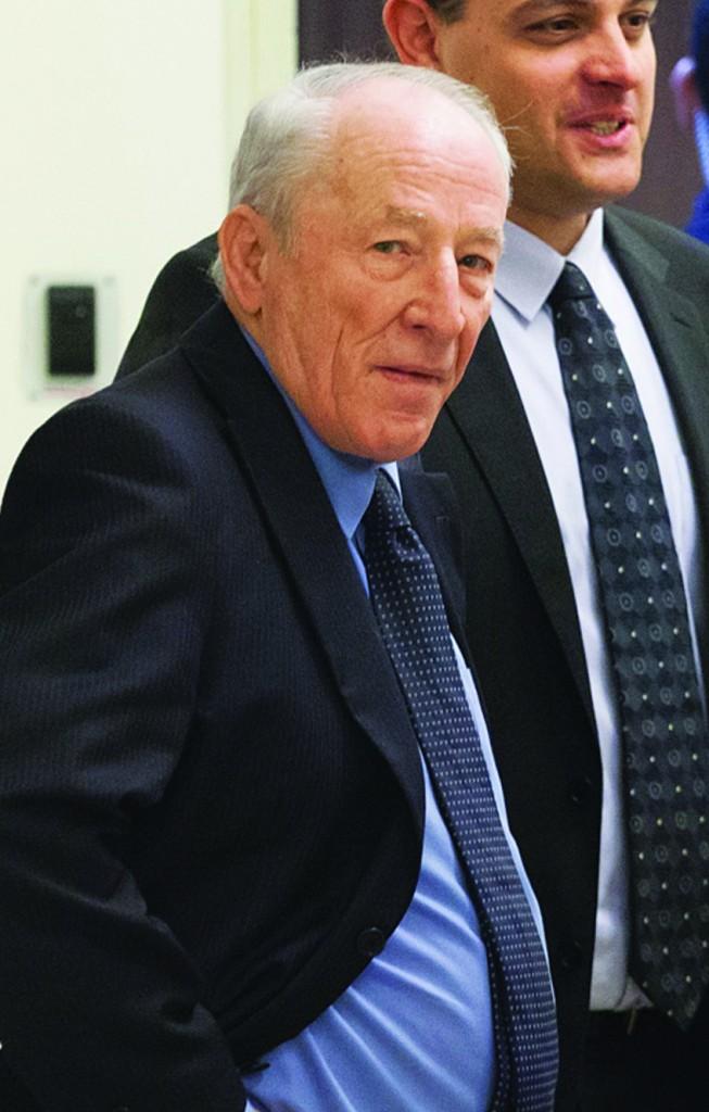 Attorney General Yehuda Weinstein. (Emil Salman/POOL/Flash90 )