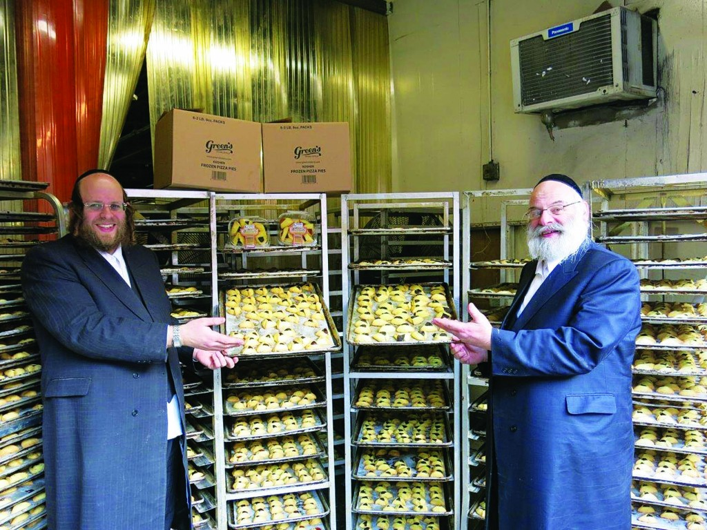 Hamantaschen sold on Boro Park's 13th Ave. (JDN)