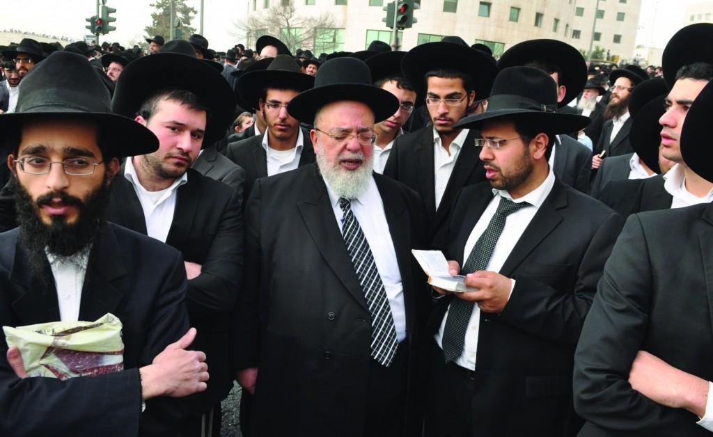 Harav Eliyahu Abba Shaul, shlita, Rosh Yeshivas Ohr Lezion.