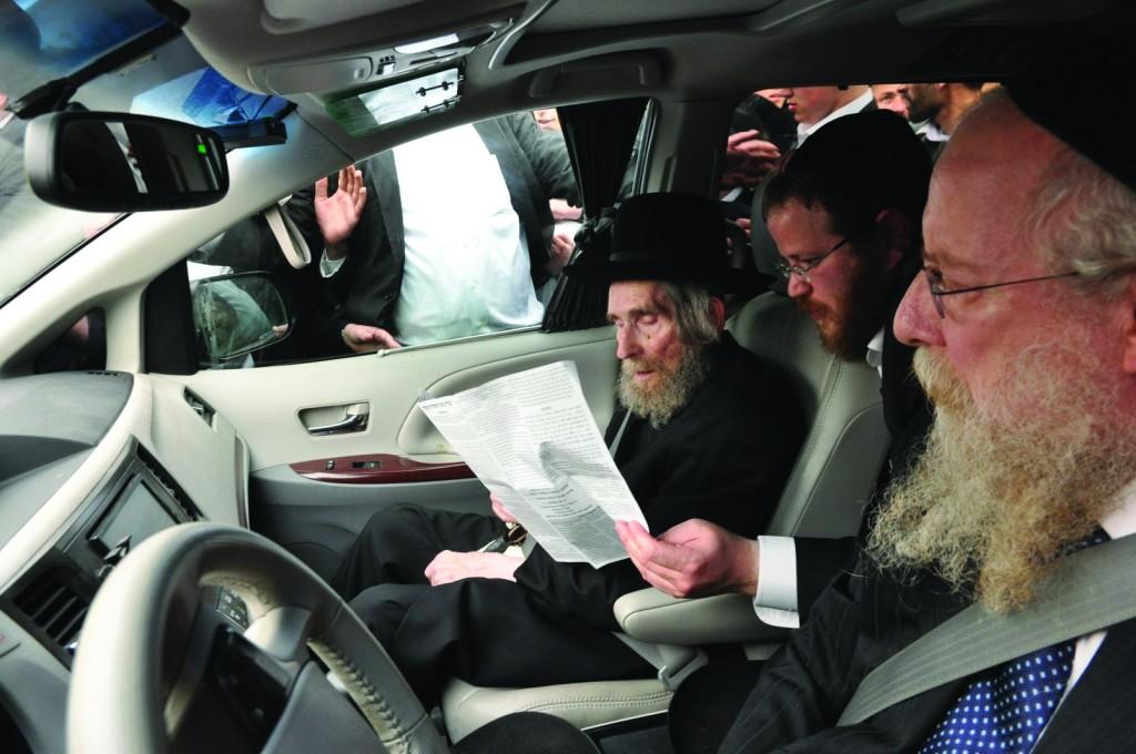 Hagaon Harav Aharon Leib Steinman, shlita.