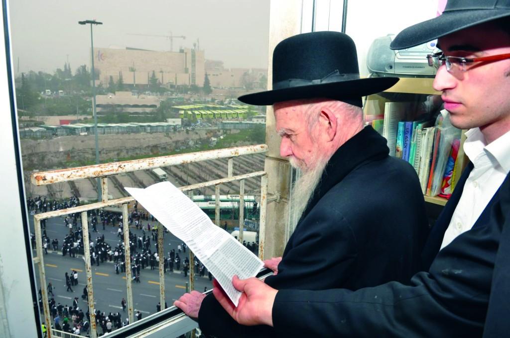 Hagaon Harav  Gershon Edelstein, shlita.