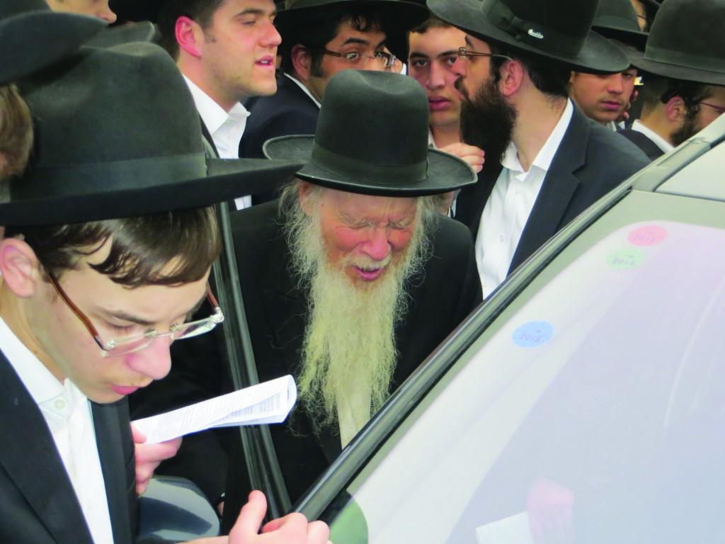 Harav Aryeh Finkel, shlita, Rosh Yeshivah Mir, Brachfeld.