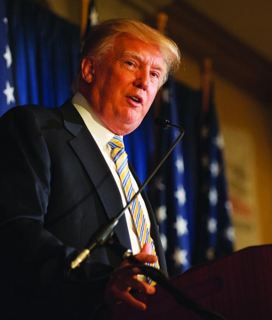 Donald Trump. (AP Photo/Lockport Union-Sun & Journal, Joed Viera)