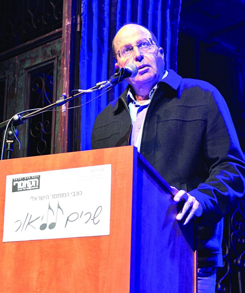 Israel's Defense Minister Moshe Yaalon (Ariel Hermoni/Ministry of Defense/Flash90)