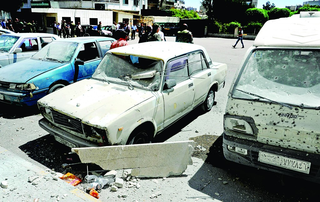 Car Bomb, Mortar Rounds Kill at Least 50 in Syria | Hamodia com