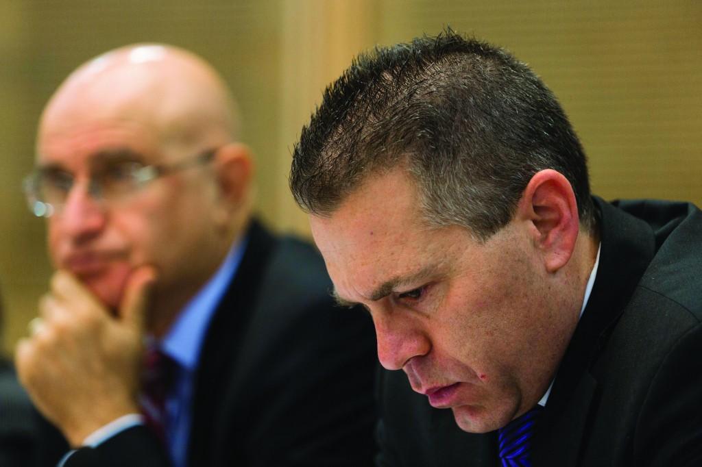 Homefront Minister Gilad Erdan resigned.  (Flash 90)