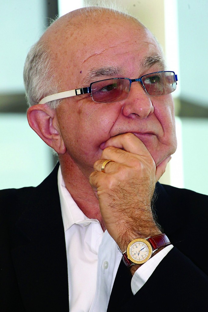 Prof. Dov Chernichovsky. (Gideon Markowicz/FLASH90)