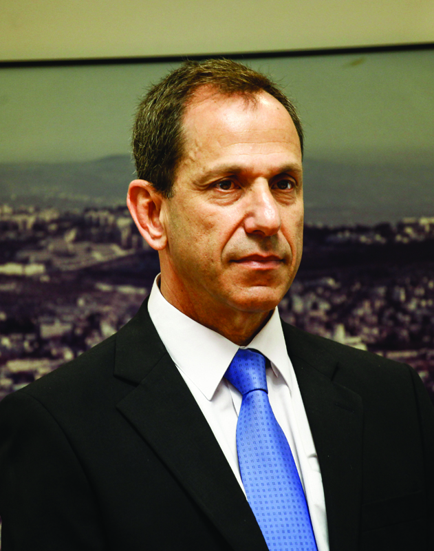 Professor Shmuel Hauser, chairman of The Israel Securities Authority (ISA). (FLASH90)