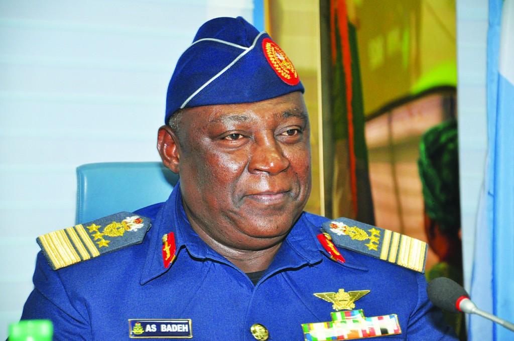 Air Marshal Alex S. Badeh, Nigeria's chief of defense staff  (AP Photo/Olamikan Gbemiga)