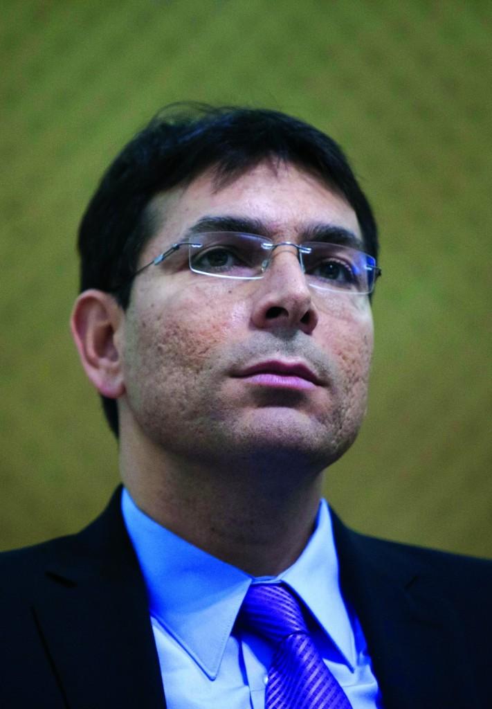 Israeli Deputy Defense Minister Danny Danon.(Yonatan Sindel/Flash90)
