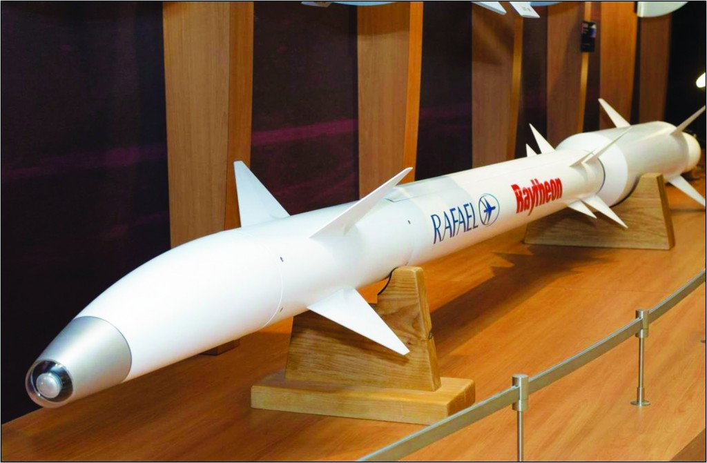 The David's Sling, a new mid- to long-range missile interceptor, is designed to complement Israel's Iron Dome short-range and Arrow long-range missile defense systems.  (Ministry of Defense/Flash90)