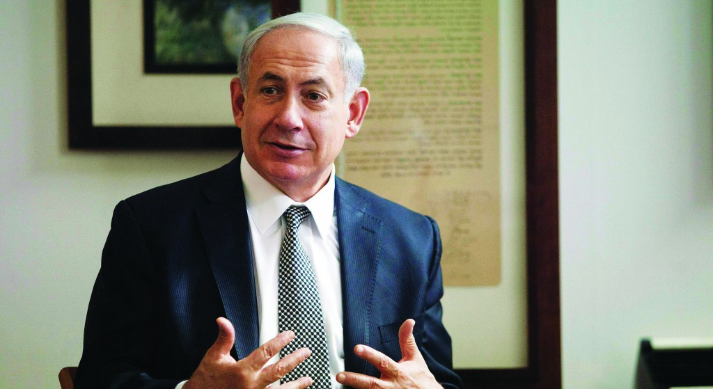 Israeli Prime Minister Binyamin Netanyahu. (REUTERS/Dan Balilty/Pool)