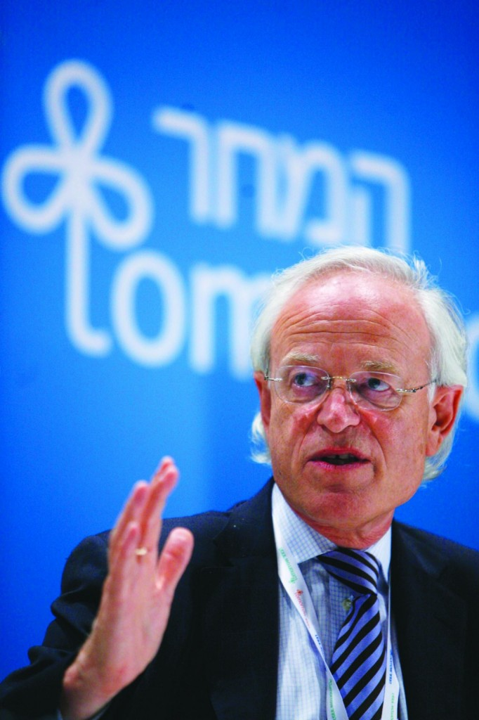 U.S. envoy to the peace talks, Martin Indyk.   (Miriam Alster/FLASH90)
