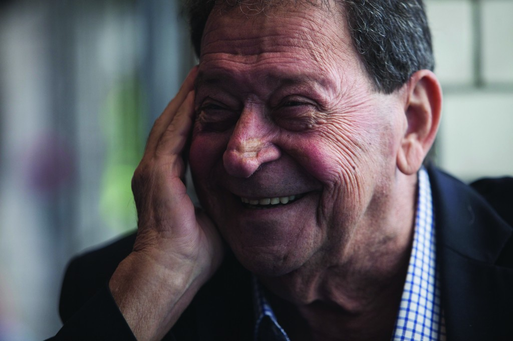 Binyamin Ben-Eliezer, a former defense minister and one-time head of the Labor Party, among those vying to become Israel's next president.  (AP Photo/Dan Balilty)