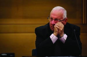 MK Reuven Rivlin, a former Knesset speaker, is running for president. (Hadas Parush/Flash 90 )