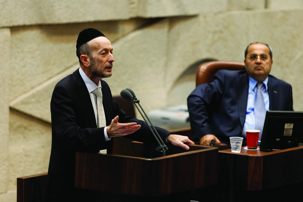 United Torah Judaism MK Uri Maklev.  (Flash90)
