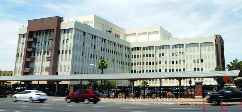 The Department of Veterans Affairs in Phoenix.  (AP Photo/Matt York)