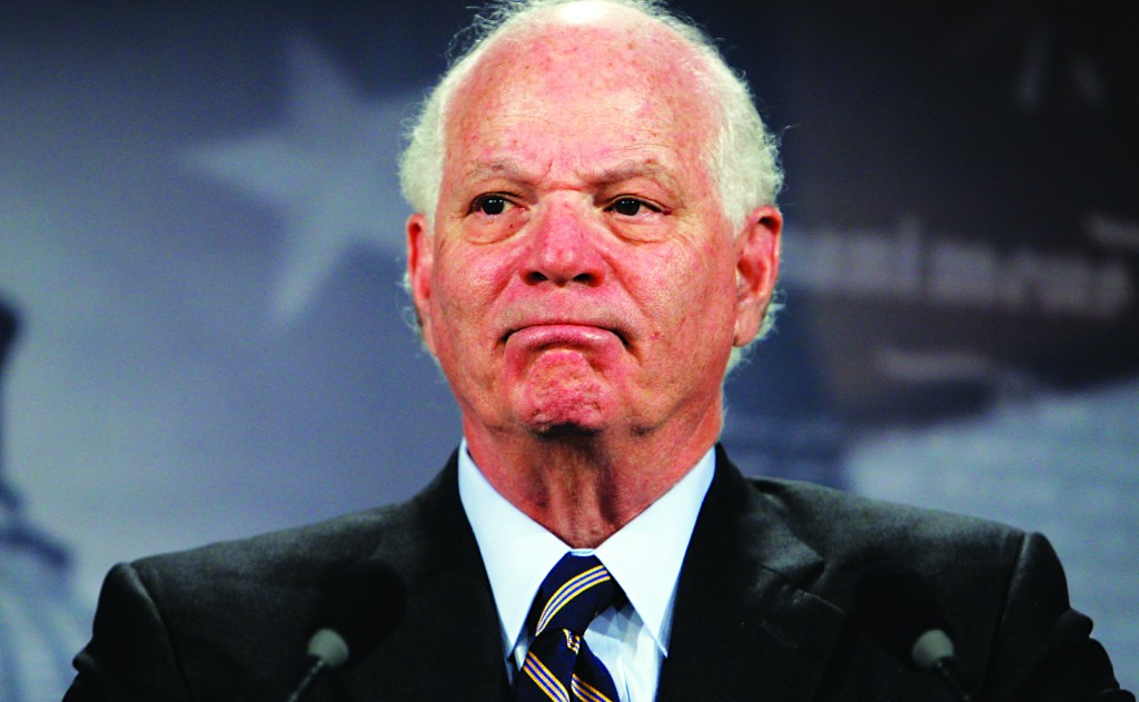Senator Ben Cardin (D-MD). (AP Photo/Charles Dharapak, File)