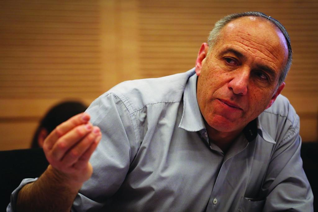 Jewish Home MK Mordechai Yogev. (Hadas Parush/Flash 90)