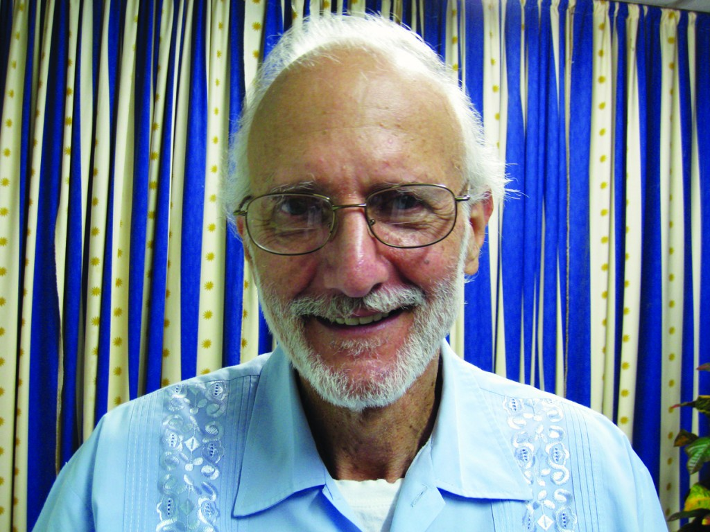 Jailed American Alan Gross poses for a photo on Nov. 27, 2012  (AP Photo/James L. Berenthal, File)