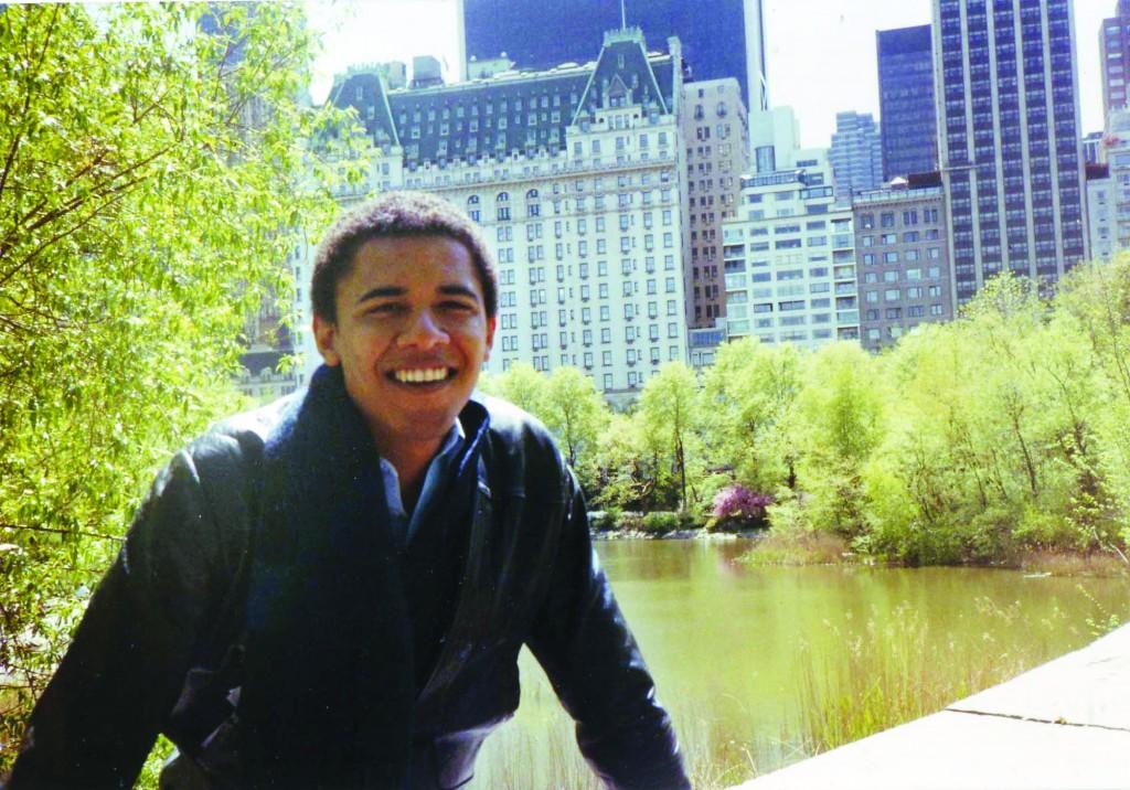 Barack Obama in 1983, when he studied in Columbia University in New York. (AP Photo/Obama Presidential Campaign)