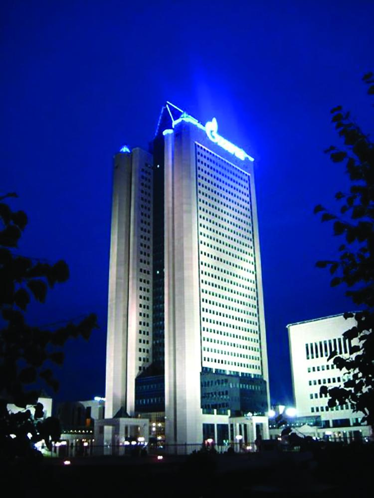 Gazprom headquarters in Moscow. (wik)