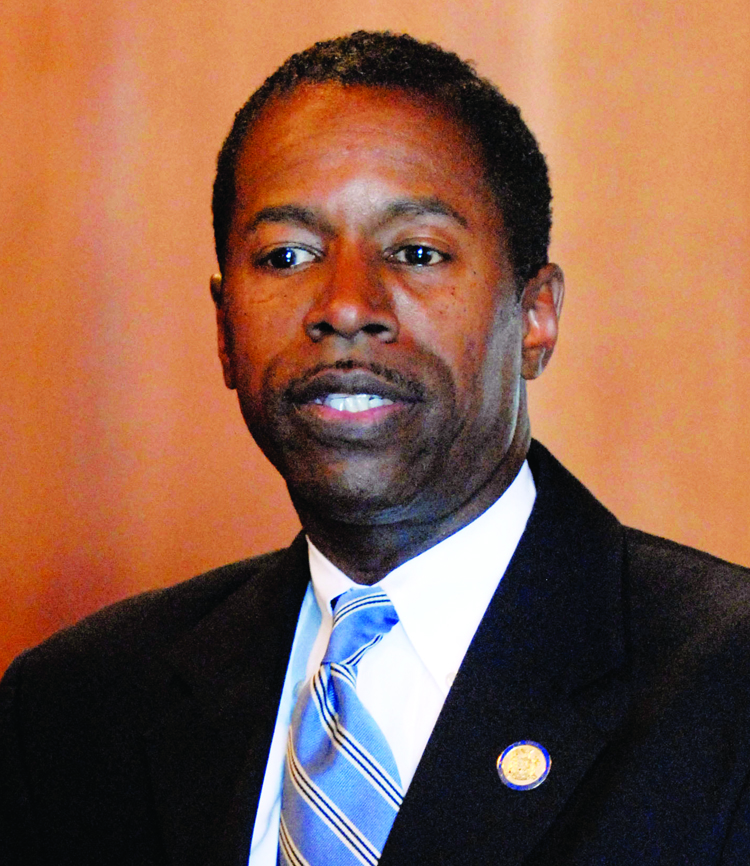 State Sen. Malcolm Smith, D-Queens. (AP Photo/Tim Roske)