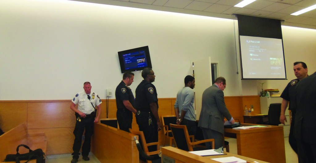 Kendel Felix pleads not guilty in Brooklyn Criminal Court on Friday morning  (David Glenn)