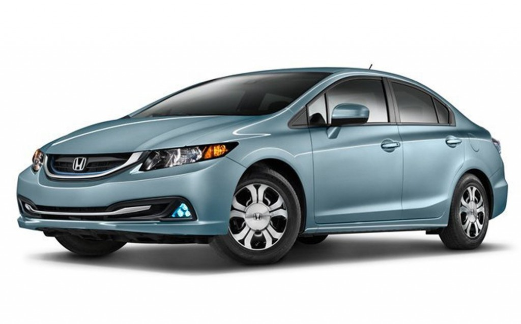 The 2014 Honda Civic Hybrid is a gasoline-electric hybrid version of the Civic, with EPA ratings off 44 mpg in the city and 47 for the highway. The base model starts at $24,635. (MCT)