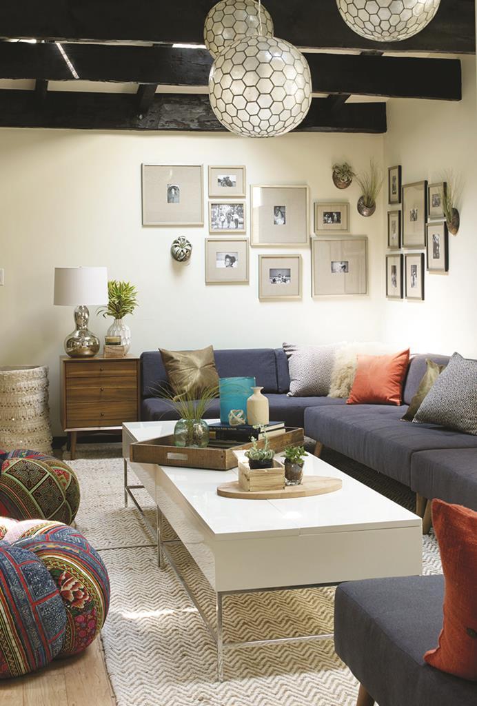 Gracie Mansion's new living room. (West Elm)