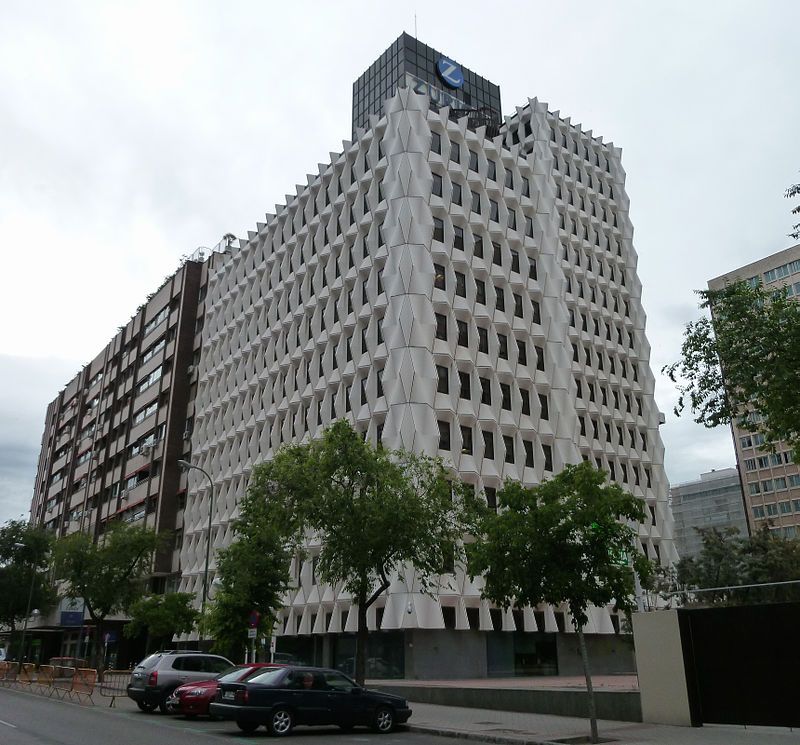 Zurich Insurance Group offices in Madrid, Spain.