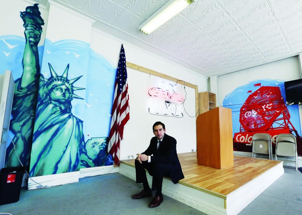 Jersey City Mayor Steven Fulop. (AP Photo/Julio Cortez )