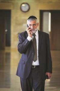 Shas MK Eli Yishai (FLASH90 )