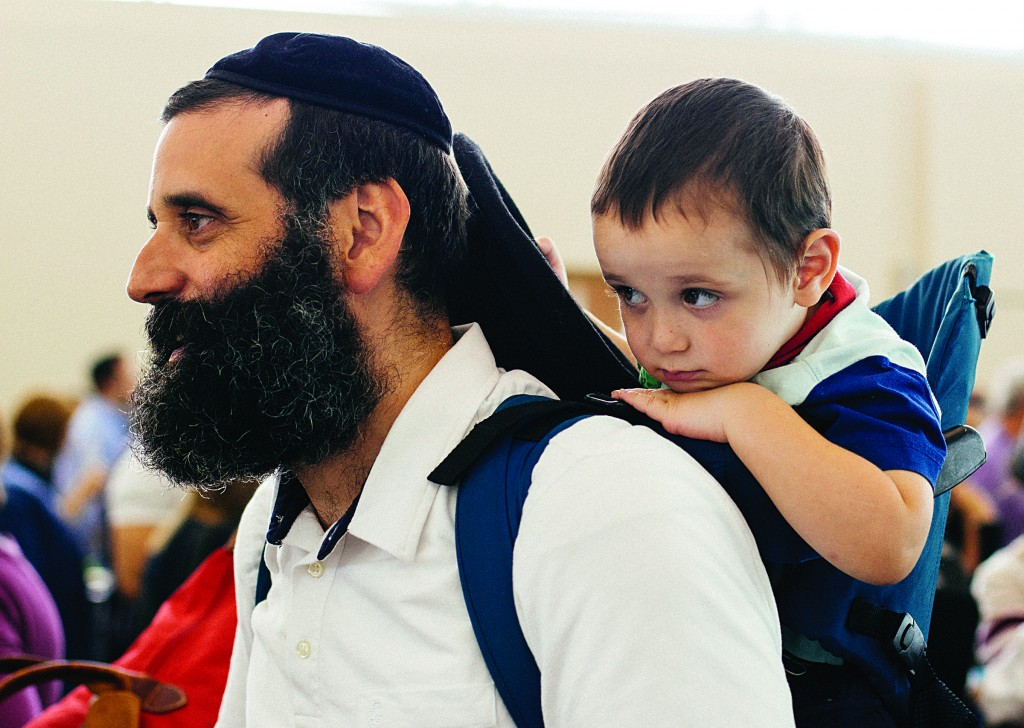 Immigrants from the US on a Nefesh B'Nefesh aliyah flight (Flash90)