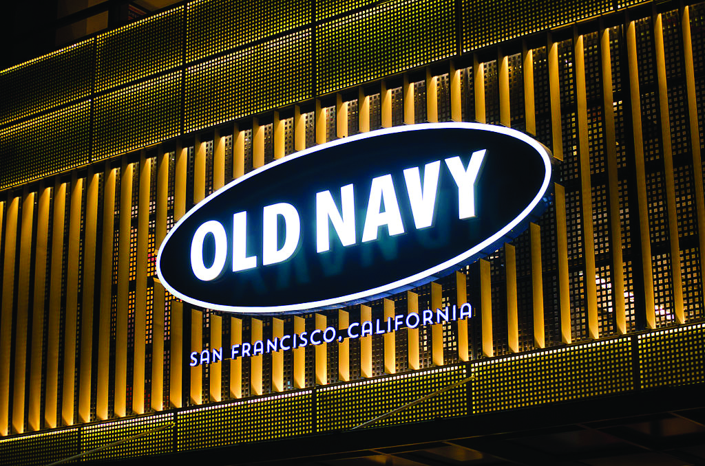 Old Navy flagship store in the Philippines was opened on March 22, 2014, in Bonifacio Global City. (Wik)