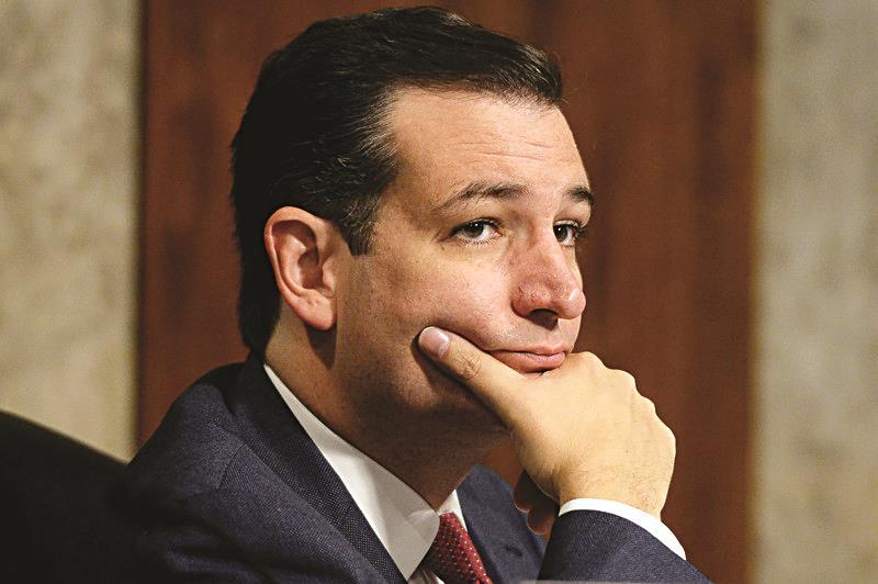 Republican Senator from Texas Ted Cruz. (EPA/MICHAEL REYNOLDS)