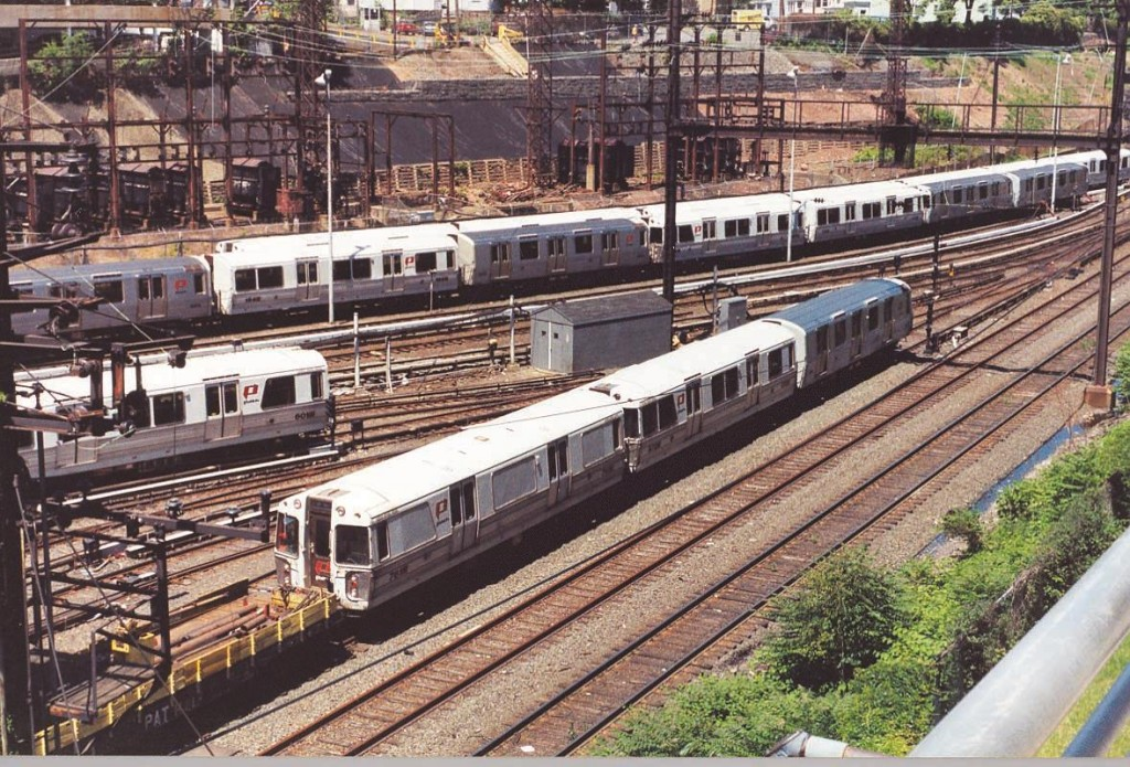 PATH trains at Journal Square in New Jersey. (Flickr)