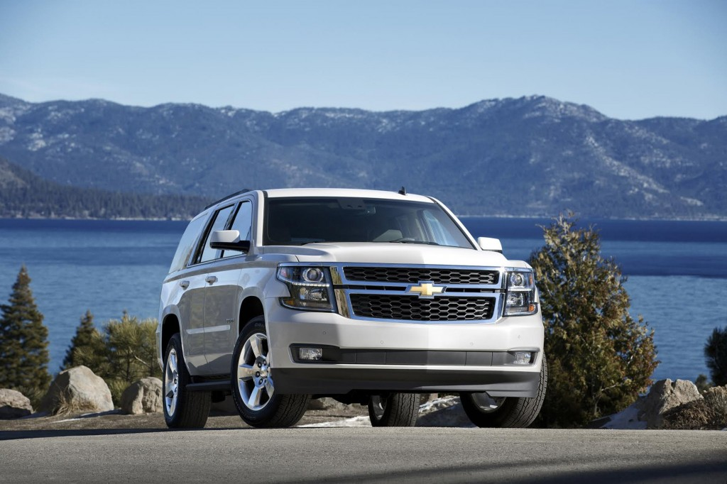 The 2015 Chevrolet Tahoe's front shows the all-new refined and precisely sculpted design. (Chevrolet/MCT)